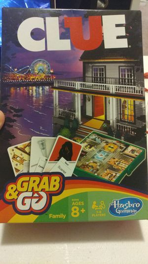 NEW|CLUE Grab & Go Board Game|3-6 PLAYERS for Sale in Las Vegas, NV