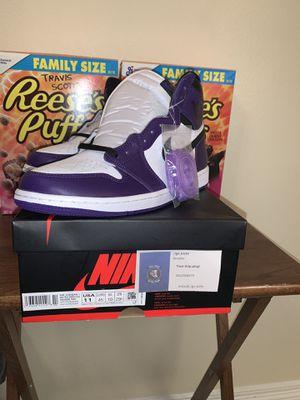 """Jordan 1 Retro High Og """"Court Purple"""" for Sale in Edinburg, TX"""