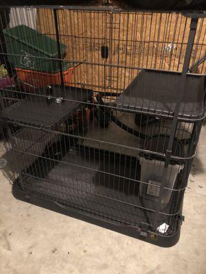 Pet crate nice big space dog cat etc cage for Sale in Alafaya, FL