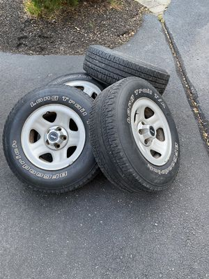 Stock jeep wheels 5x4.5 for Sale in Shamong, NJ