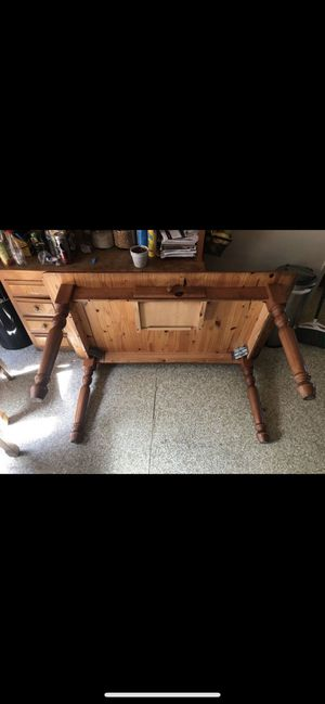 Solid Wood Kitchen Table and Chairs for Sale in Downey, CA