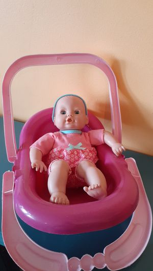 """Baby doll 9"""" with carrier. for Sale in Medley, FL"""