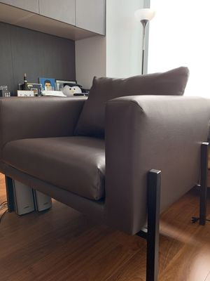 2 KOARP Armchairs $199 -> $85 - brown/black for Sale in San Francisco, CA