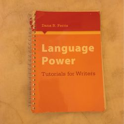 Language Power Tutorials for Writers By Dana R. Ferris for Sale in Chino,  CA