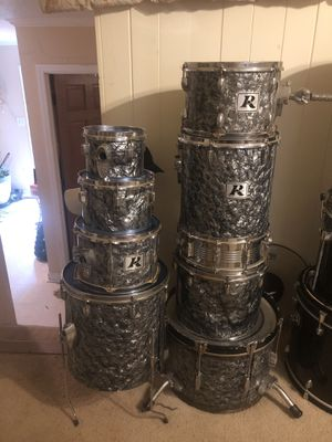 9 piece Rogers Drums set for Sale in Cary, NC