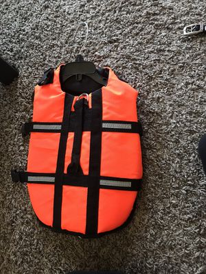 Life vest for dog for Sale in Lubbock, TX