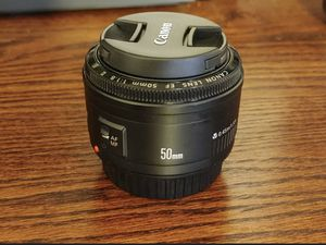 Canon Ef 50mm F/1.8 Focal Length Lens for Sale in Charlotte, NC