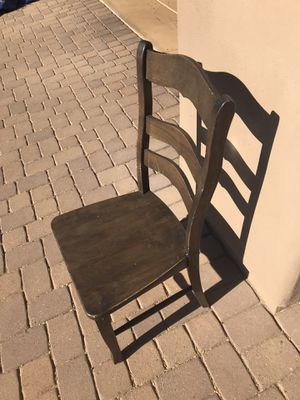 Wooden Chairs - Set of 3 for Sale in Scottsdale, AZ