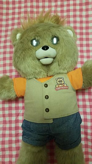 Teddy ruxpin story telling friend bear price a little negotiable for Sale in New York, NY