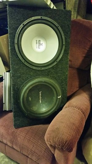 3 12 inch subs for Sale in Canton, IL