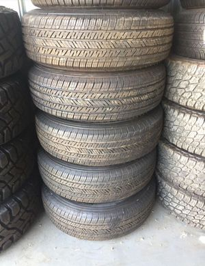 Wheels for trailer set of 5 like new for Sale in Corona, CA