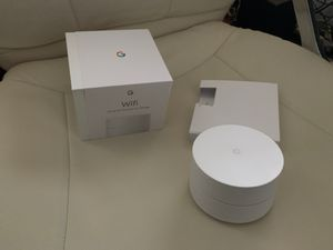 Google WiFi mesh router puck x2 for Sale in Everett, WA