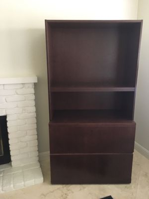 Display/book shelves with 2 filing drawers. for Sale in Upland, CA