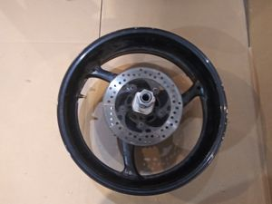 2010 suzuki gsxr 600 rear wheel rim. Perfectly straight, no flat spots. See pictures for further description. for Sale in San Diego, CA