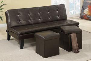 futon sofa bed w/ ottoman for Sale in Phoenix, AZ