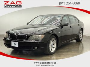 2008 BMW 7 Series for Sale in Sarasota, FL