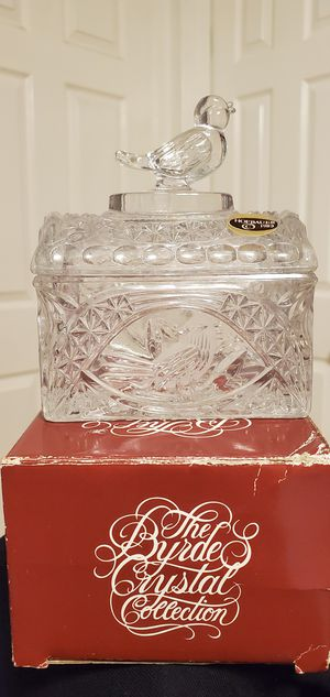 Brand New The Byrd's Collection Glass Bird Storage Container $12.00 for Sale in Gardena, CA