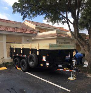 Dump Trailer (Drop Off/Haul Away Debris) for Sale in Miami, FL