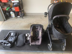 Evenflo pivot stroller and car seat travel system for Sale in Honolulu, HI
