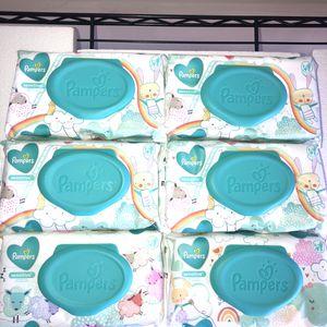 Pampers Sensitive Wipes Bundle-6pk++ FREE BONUS for Sale in Cookeville, TN