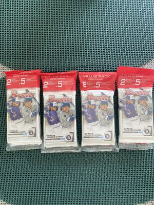 Lot of (4) 2020 Bowman Value Pack for Sale in Guyton, GA