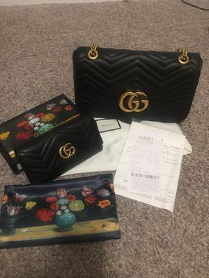 GG Bag and wallet New condition for Sale in Eagle Mountain, UT