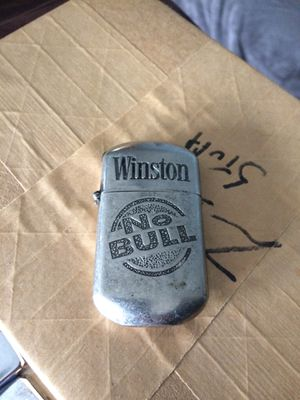 "Winston ""No Bull"" Lighter (zippo type) for Sale in Rochester, NY"