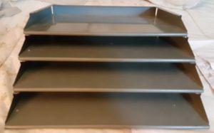 Metal shelf file/ letter holder.....comes apart for Sale in Seaford, DE