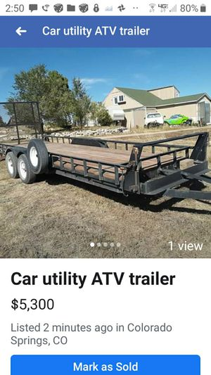 This is a 21 foot trailer for Sale in Elbert, CO