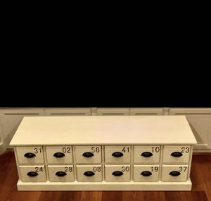 Storage Bench with Drawers for Sale in Washington, DC