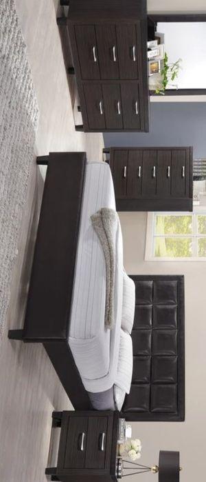 💚 Best Offer 💚 Chocolate Bar Walnut Panel Bedroom Set | B050 for Sale in Jessup, MD