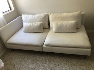 IKEA Soderhamn Open End Sofa! Two pieces. for Sale in Carlsbad, CA