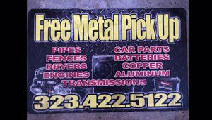 Hi we pick up scrap metal for free!!! for Sale in Hemet, CA