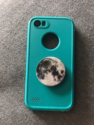Life Proof Phone Case With POP Socket iPhone 5/s for Sale in Titusville, FL