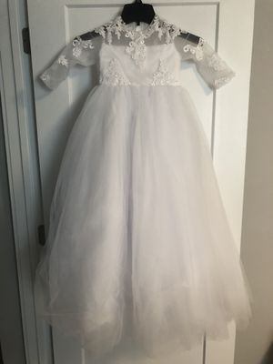 Flower Girl Wedding Dress Size 5 for Sale in Queens, NY