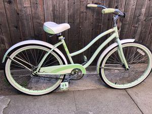 Mint green beach cruiser bike for Sale in Pomona, CA