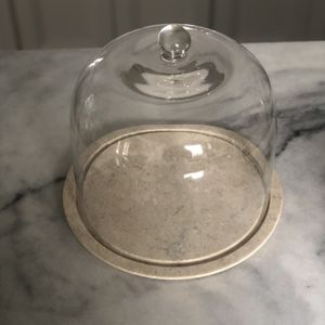 Pottery Barn Marble Cheese Dome for Sale in North Haven, CT