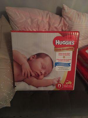 Huggies newborn for Sale in Morrow, GA