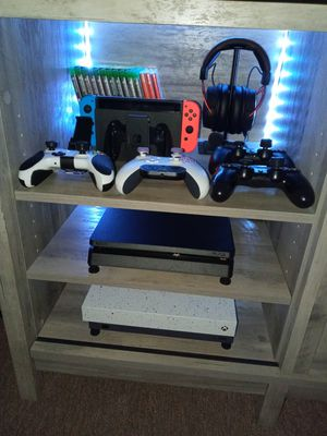 Ps4 slim xbox x nintendo switch for Sale in Guadalupe, AZ