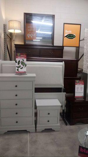 🆕️ Best OFFER 🍻🍾 Jorstad Gray Sleigh Bedroom Set | B378 769 for Sale in Jessup, MD