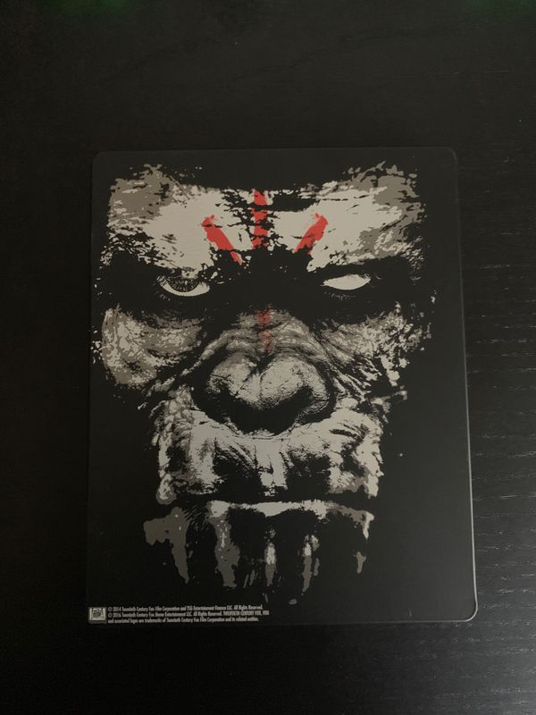 Dawn of the Planet of the Apes Blu Ray Best Buy Steelbook