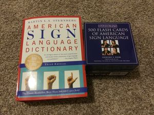 ASL ( American sign language) for Sale in Kennewick, WA