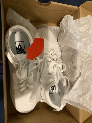 Brand New WHITE Vans. for Sale in Los Angeles, CA