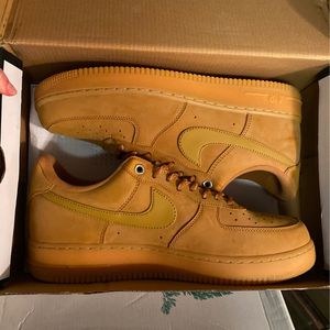 Nike Air Force 1 Low Flax for Sale in Riverside, CA