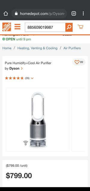 Pure Humidify+Cool Air Purifier by  Dyson for Sale in Los Angeles, CA