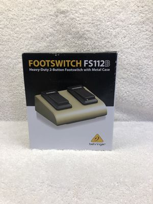 Behringer Footswitch FS112B Pedal BRAND NEW for Sale in Burbank, CA