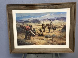 Cowboy Painting for Sale in Beaumont, TX