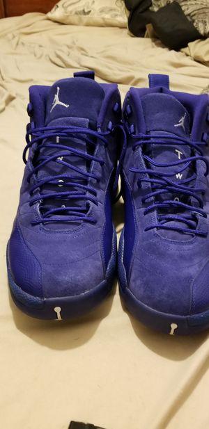Jordan 12 royal blue size 15 shoe for Sale in Puyallup, WA