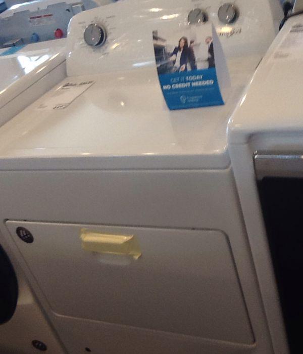 New open box whirlpool gas dryer WGD4850HW
