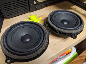 BMW / Mini 4 inch front speakers OEM for Sale in Seattle, WA